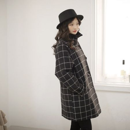 Womens Clothing Store [VANILLAMINT] London Coat / Size : FREE / Price : 73.50 USD #dailyllook #dailyfashion #fashionitem #outer #outwear #coat #check #jacket #ootd #vanillamint http://en.vanillamint.net/ http://cn.vanillamint.net/ http://jp.vanillamint.net/