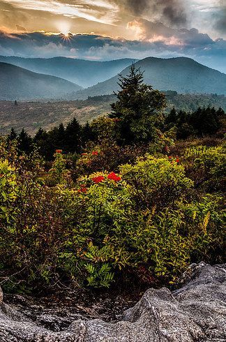 Blue Ridge Mountains is one of the 17 most beautiful spots in NC!