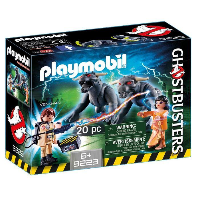 Playmobil Ghostbusters Venkman & Terror Dogs