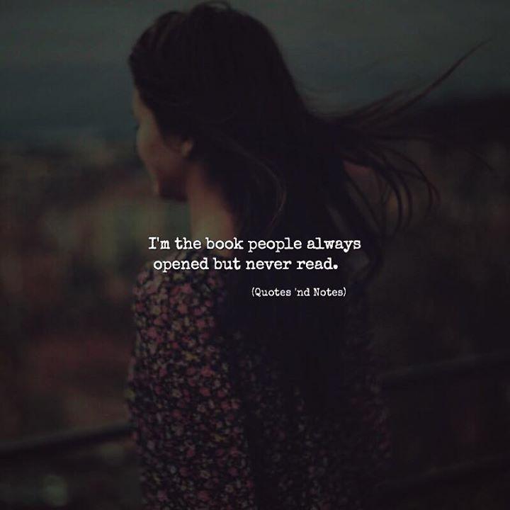 I'm the book people always opened but never read. via (http://ift.tt/2vUdKkT)