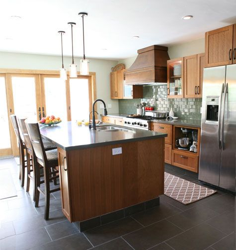 Off White Kitchen Cabinets With Tile Floor: Kitchens, For The Home And Sweet Home