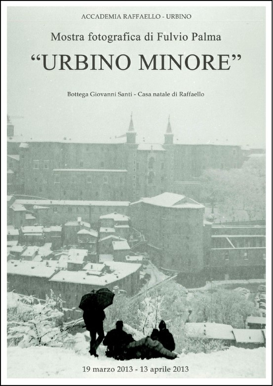 """Photo exhibition, """"Urbino Minore"""" at Bottega Giovanni Santi. Raphael's house. Wednesday, March 19, 2013 at 17.30 - Urbino Marche. 100 photos from 1965 to the present, tell a city that reflects the history of its inhabitants. Urbino, Le Marche, Italy"""