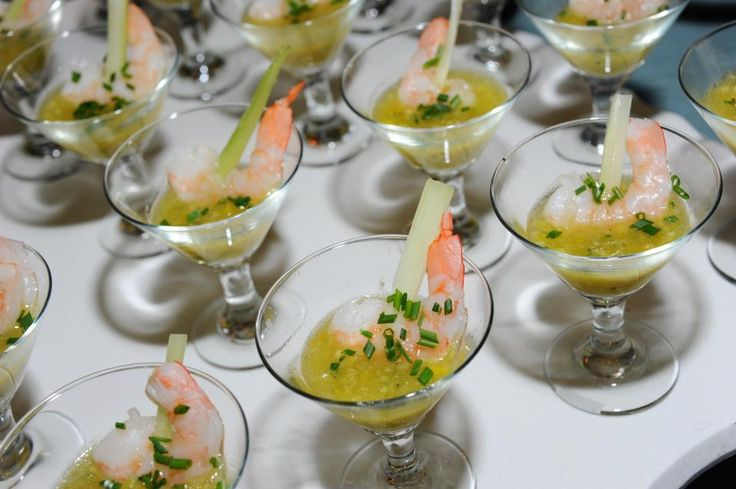 Shrimp Gazpacho Martinis
