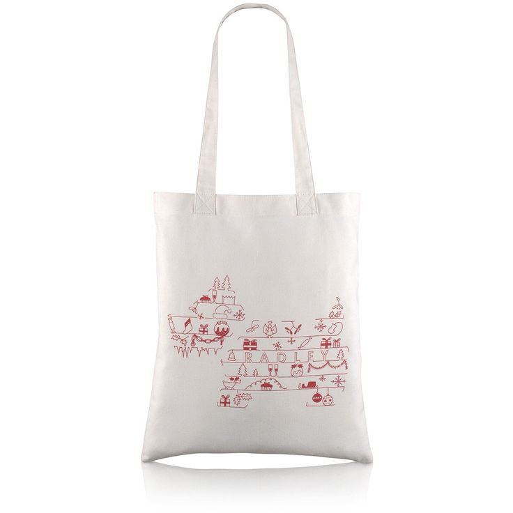 The perfect stocking filler: Radley's 'Christmas Pooch' shopper tote bag.
