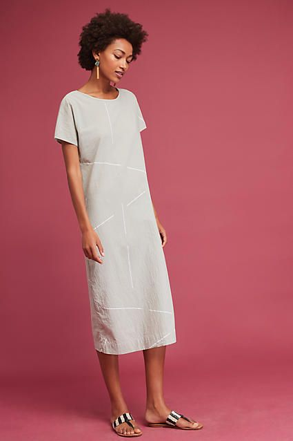 Uzi NYC Padma Midi Dress