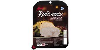 Atria Kulinaari 200g Perinteinen Joulukinkku. Perinteinen Joulukinkku leivän päälle tai lautaselle.