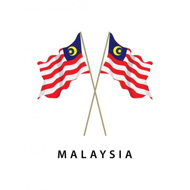 Malaysia Flag Vector Template Design Illustration Flag Icons