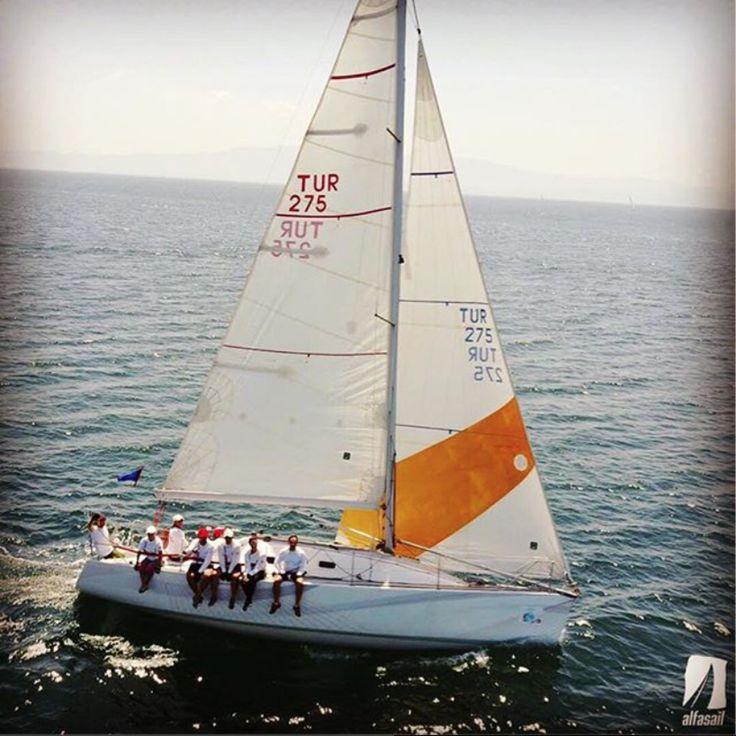 11-12-13 Ağustos tarihlerinde 3 takımımız ile birlikte Tayk Olympos Regatta yarışına katıldık. İlk günkü 37 millik etapta IRC3 sınıfında Falcon ile 2. Petek ile 8. Olduk. IRC2 sınıfında yarıştığımız Güneş Sigorta Mary ile starttan hemen sonra Deniz Kuvvetleri kupasında olduğu gibi dümen telimiz koptu ve yarış sırasında onarım yaptık. Bir hayli geriye düştüğümüz yarışı 5. Sırada tamamladık. İkinci gün yapılan Şamandıra yarışında sorunlar devam etti, bu sefer Falcon yarış başında ana yelkenini…
