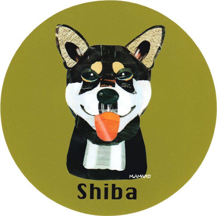 マイ @Behance プロジェクトを見る : 「024   Shiba (black)」 https://www.behance.net/gallery/42193801/024-Shiba-(black)