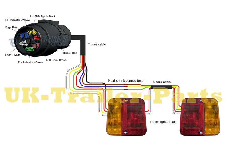 Way Trailer Plug Wiring Diagram Further Ford F 150 Trailer Wiring