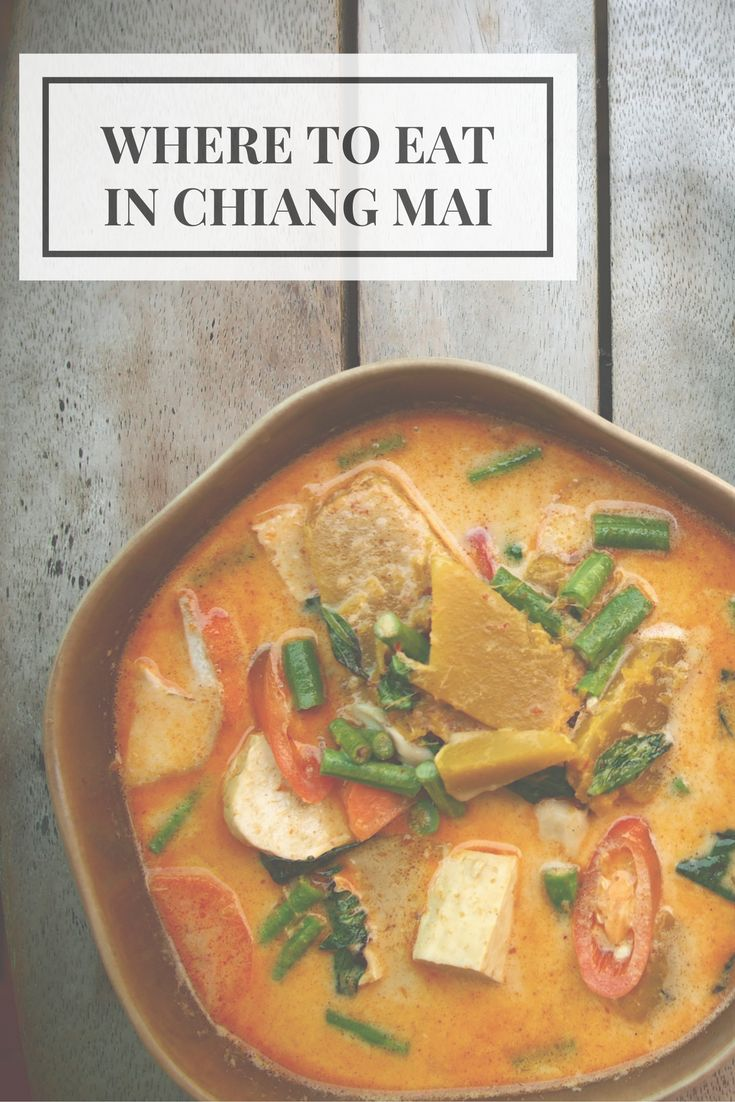 The best street food in Chiang Mai, #Thailand, as well as where to stay in town. Comprehensive - and opinionated! - guide.