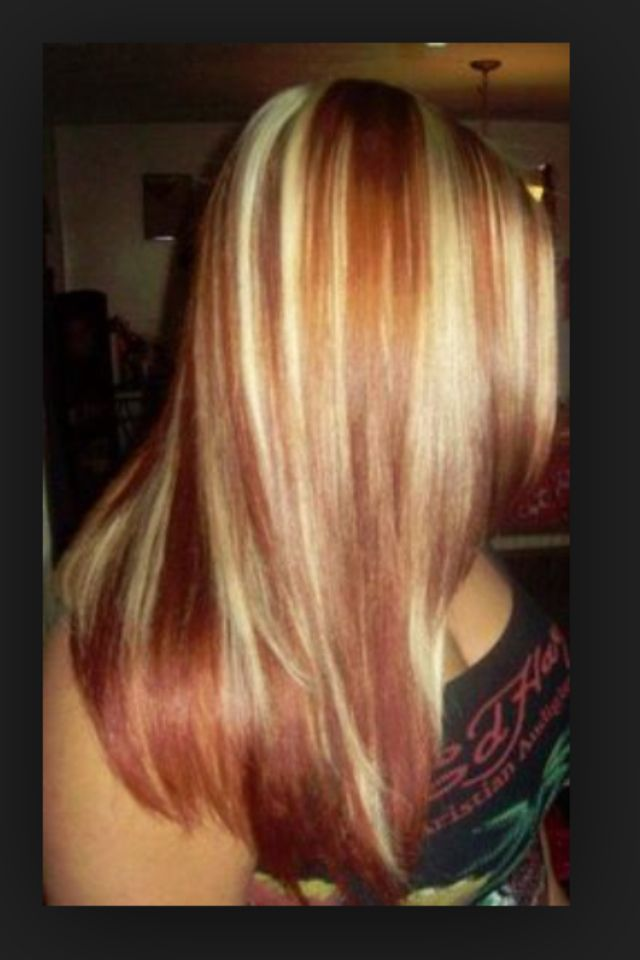 36 best hair images on pinterest blonde highlights hair copper highlights pmusecretfo Choice Image