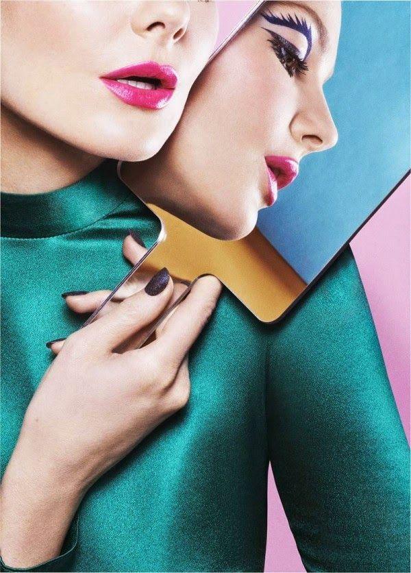 Eniko Mihalik for Allure Magazine August 2014
