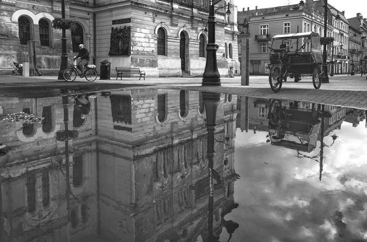 Piotrkowska Street, Lodz poland