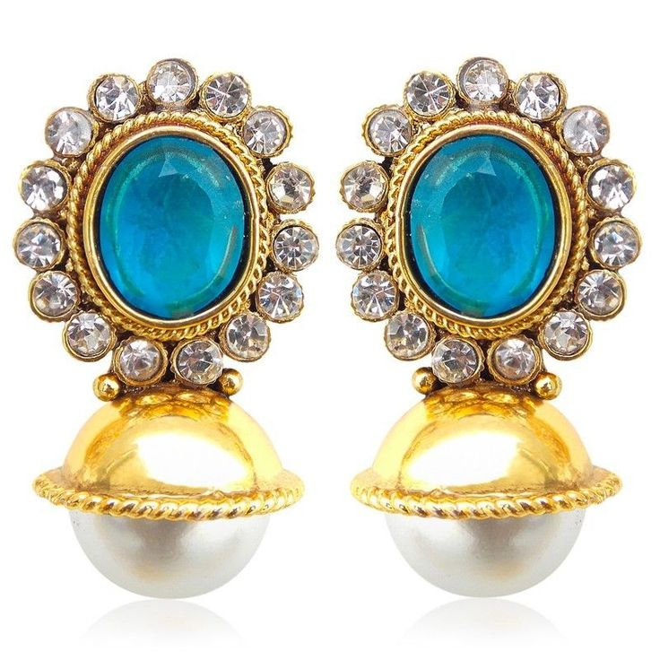 alloy colourful gems trendy design cute crystal jewelry pretty copper unique ifreewill stud style fashion item plated color woman earrings gold gift hot