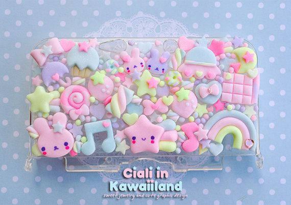 Hey, I found this really awesome Etsy listing at https://www.etsy.com/listing/176440348/super-cute-kawaii-case-for-nintendo