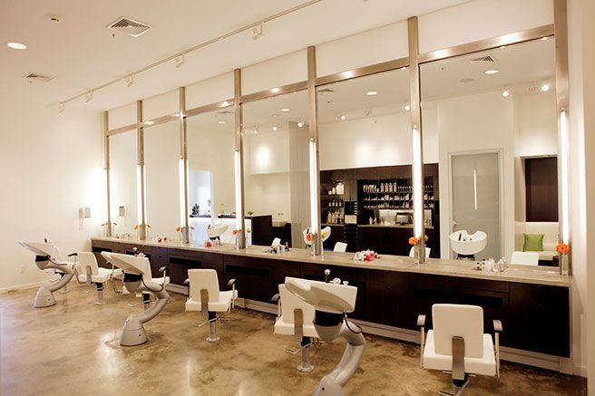 Best 25 salons decor ideas on pinterest small salon for Abc beauty salon
