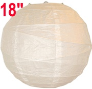 $2.48 each... Cheap paper lanterns for backdrop for ceremony
