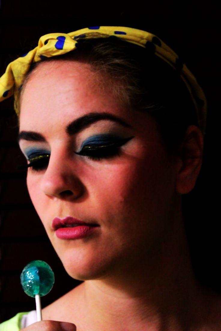 Retro Make-up done By Yolandie - Hair & Make-up Artist