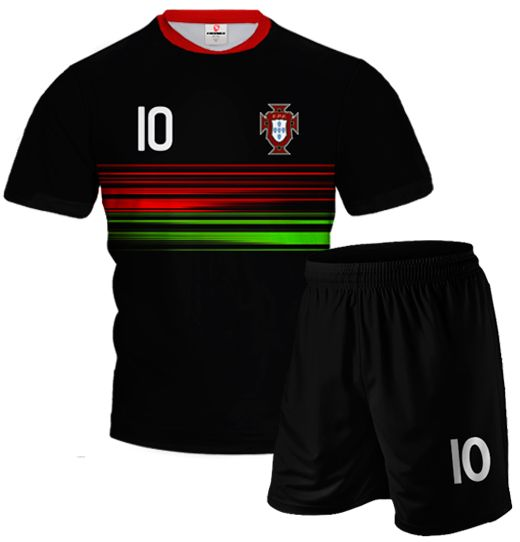 PORTUGAL AWAY 2015/16 Football Kit With Custom Name and Number