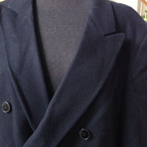 YSL MIDNIGHT BLUE MENS OVERCOAT flash sale Wool with split in the backsale1 hr Yves Saint Laurent Jackets & Coats