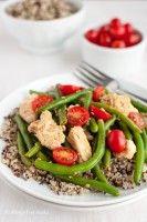 This looks sooo good! Smoky Chicken & Green Beans Over Quinoa from @AllergyFreeAK