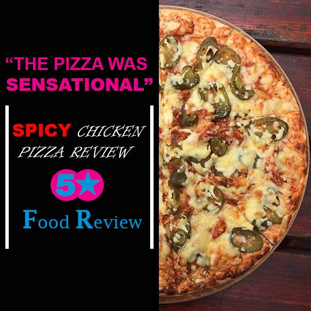 The Cock & Tail Café's #Spicy #Chicken #Pizza – CLICK TO READ THE REVIEW YOU WONT BELIEVE! http://bit.ly/1QaAFPN