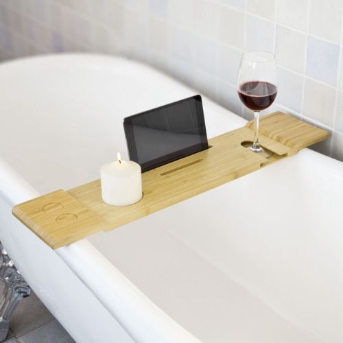 SoBuy® 70cm Schöne Badewannenablage Badewannenbrett,Badewannenauflage FRG104-N | eBay