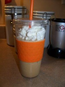 Homemade Frappuccino Recipe! and i have that same cup and color...