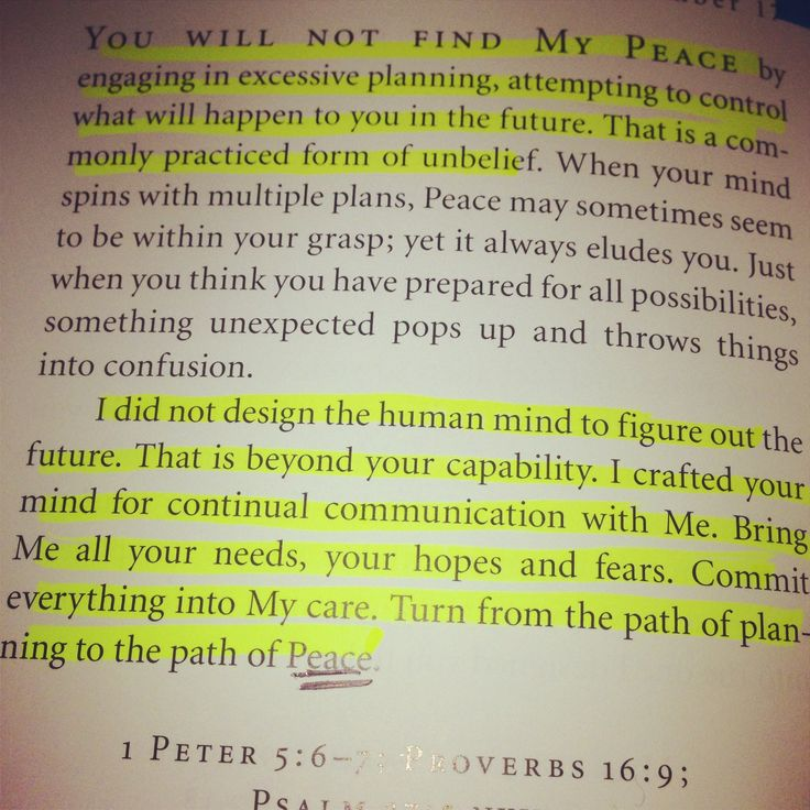 Jesus Calling - literally this is a God moment because that is JUST what I needed to hear!! God is so great!!
