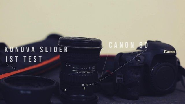 just doing a couple test shots and messing around  Canon 6D Konova K2 Slider