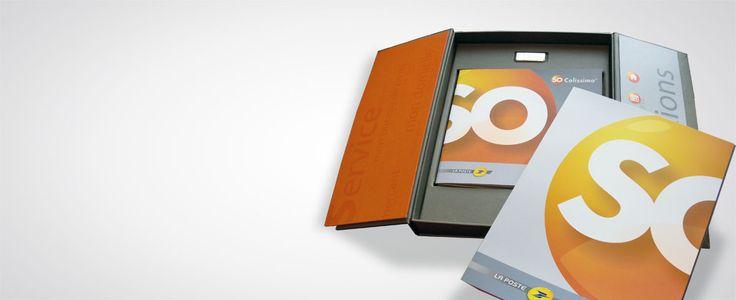 So Colissimo - Kit de lancement / Création graphique et suivi de fabrication d'un kit accompagnant la création de l'offre © ACO Design