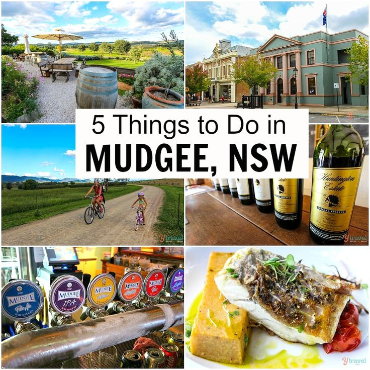 5 Things to Do in Mudgee, NSW, Australia