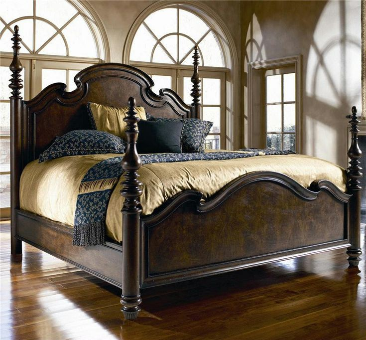 Thomasville Furniture Hills Of Tuscany Lucca Poster Bed   Choose Queen Or  King