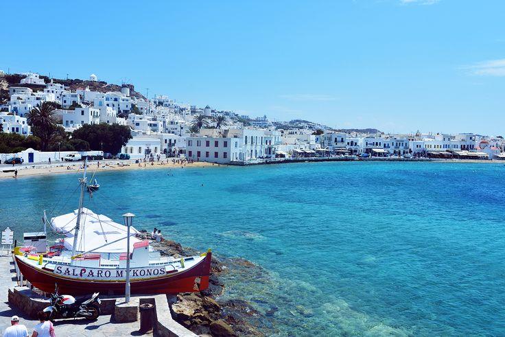 harbour #Mykonos #passionforgreece