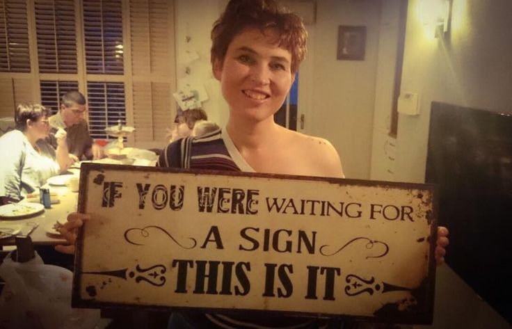 If you were waiting for a sign - this is it!