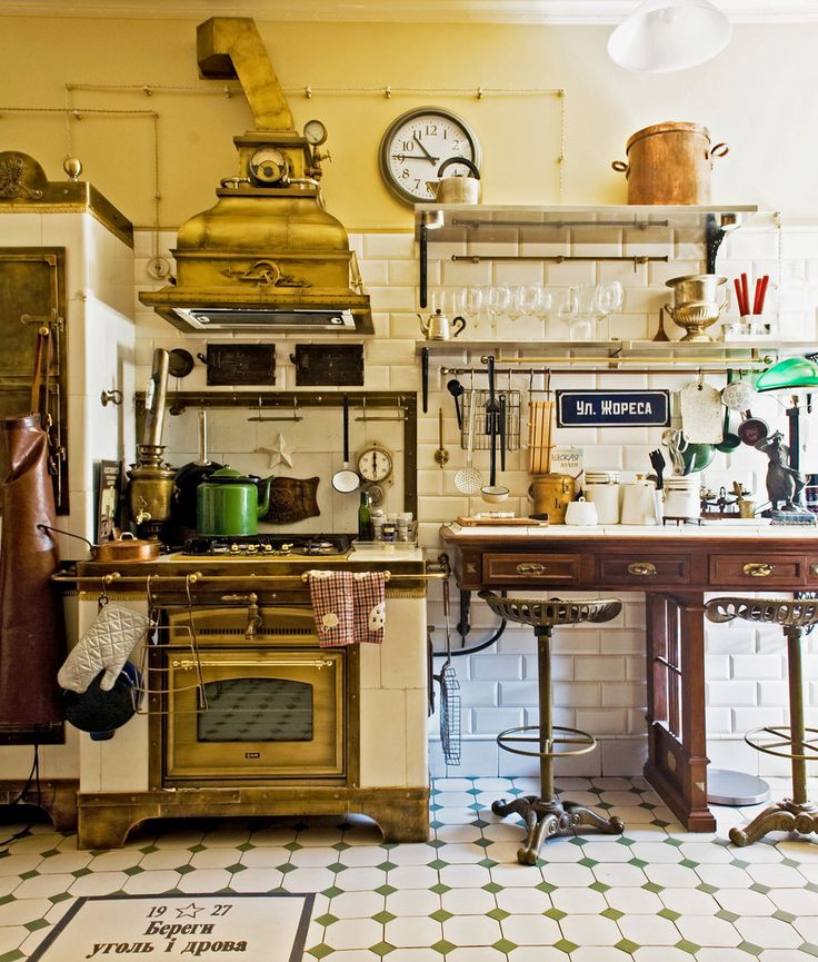 Kitchen in St. Petersburg, Russia. Photo: Andrea Wyner for The New York Times