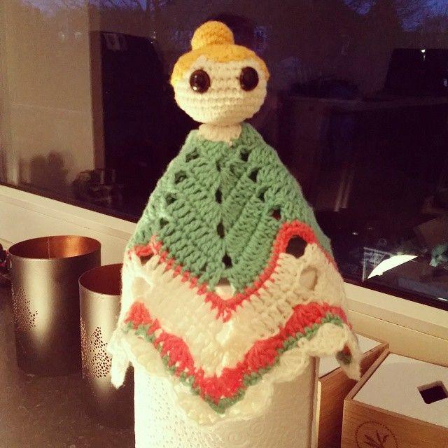 Hæklet sutteklud - fri fantasi ✌ Piget uden at være lyserød  #crochet #hækle #hæklet #instacrochet - marlenehjoellund