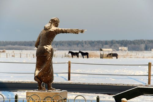 Het Stryper Wyfke (Terschelling), ook prachtig in de winter. Foto: H. Drost