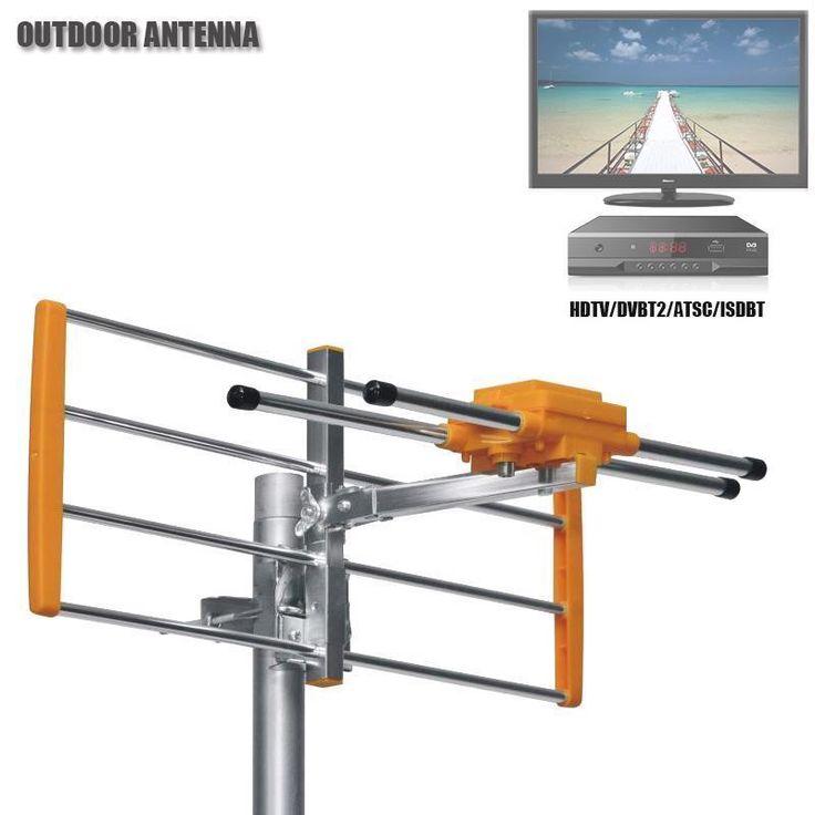 HD Digital Outdoor TV Antenna For DVBT2 HDTV ISDBT ATSC High Gain Strong Signal #VIDBOX