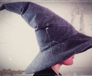 In this video I will show you how to make a Gandalf the Grey hat, you can use this pattern to make any witch or wizard hat.