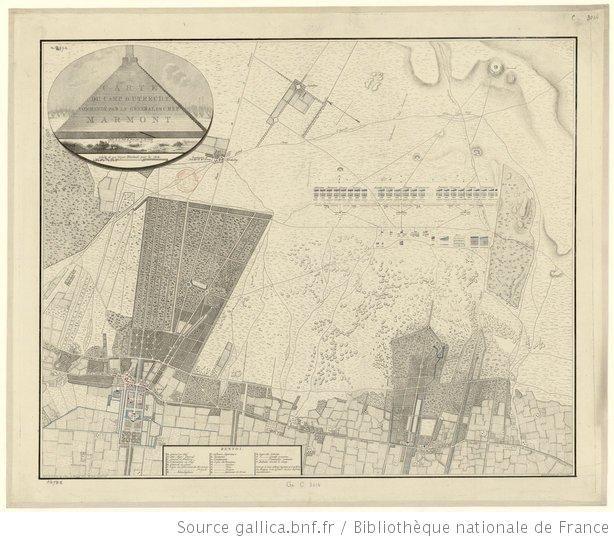 Carte du camp d'Utrecht commandé par le général en chef Marmont / Levé par le lieut. colonel ingénieur G. J. Le Fevre de Montigny - 1