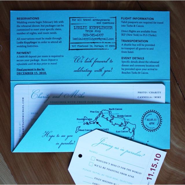 39 best invitations images on Pinterest Bridal invitations - plane ticket invitation template