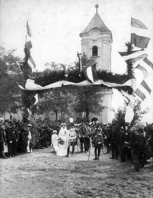 ma Marcelháza település része, Keresztelő Szent János templom. Fáy István főispán, országgyűlési képviselő esküvője.