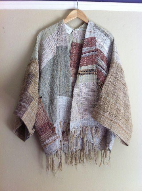 handwoven kimono - jess feury