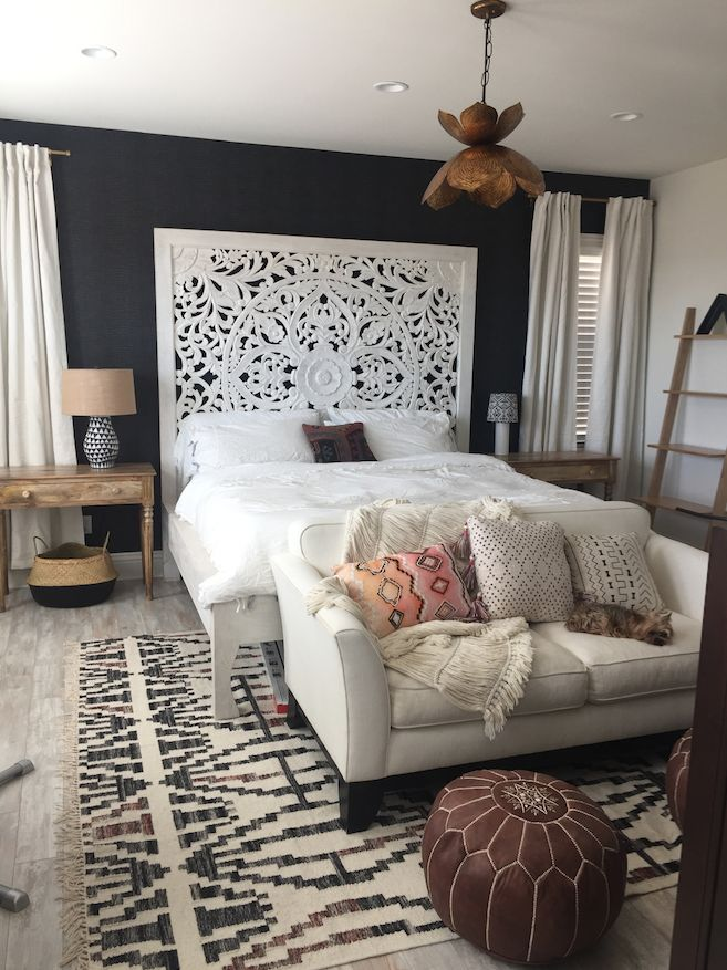 Audrina Patridge's bedroom redesign