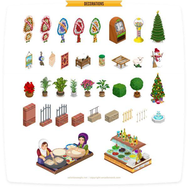 """KebabWorld"" Game Art on Behance"