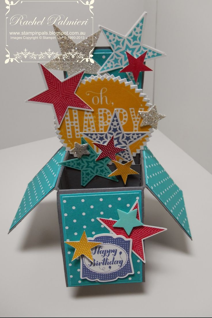 Stampin' Pals: Stars Card in a Box