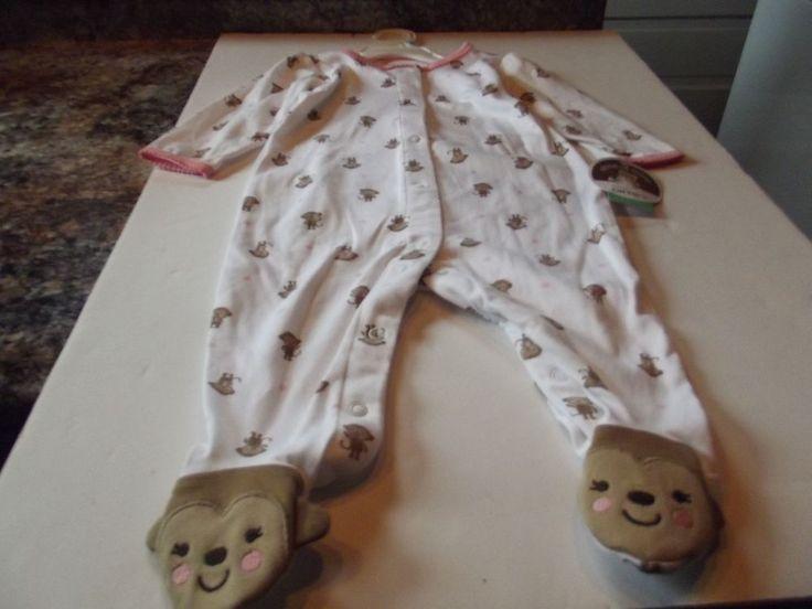 child of mine by carter's girl sleepwear size 6-9 months #ChildofMine #Nightgown
