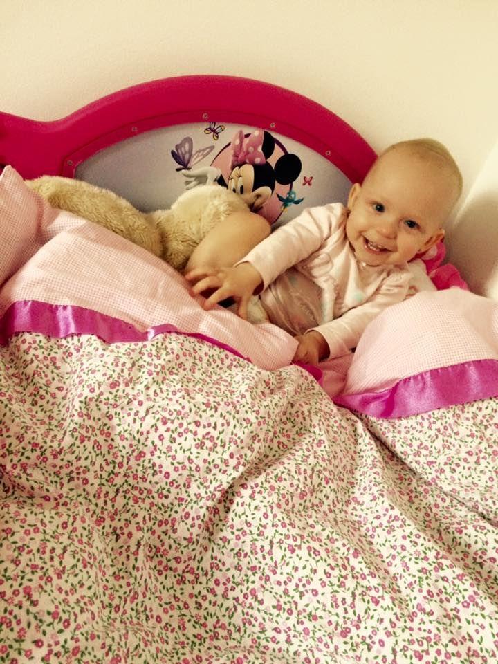 Žádný pokojíček malé princezny se neobejde bez dětské Minnie postýlky.